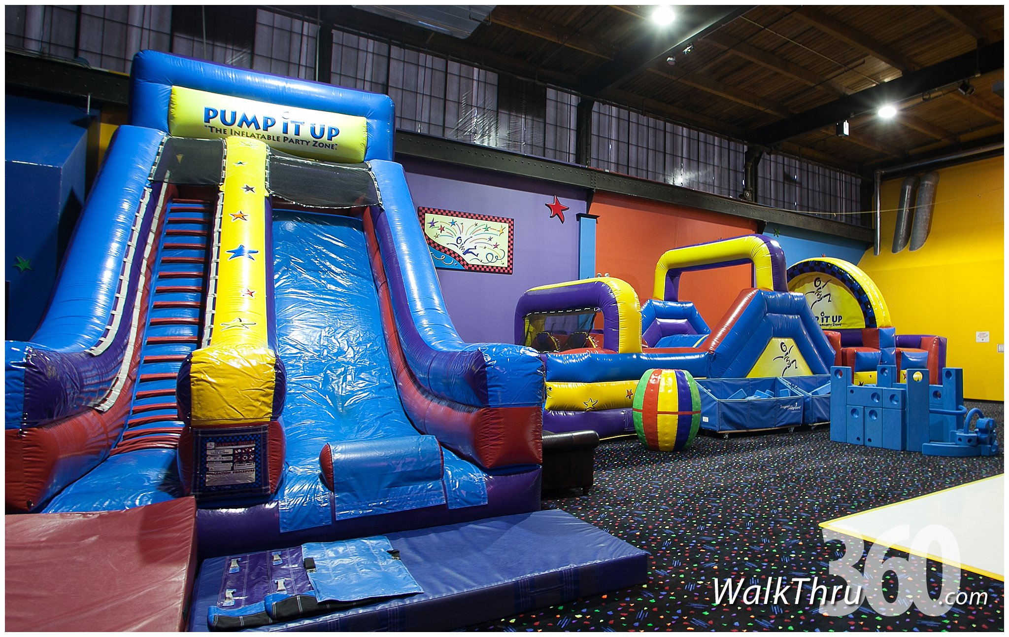 Kids Birthday Party Place Indoor Bounce House