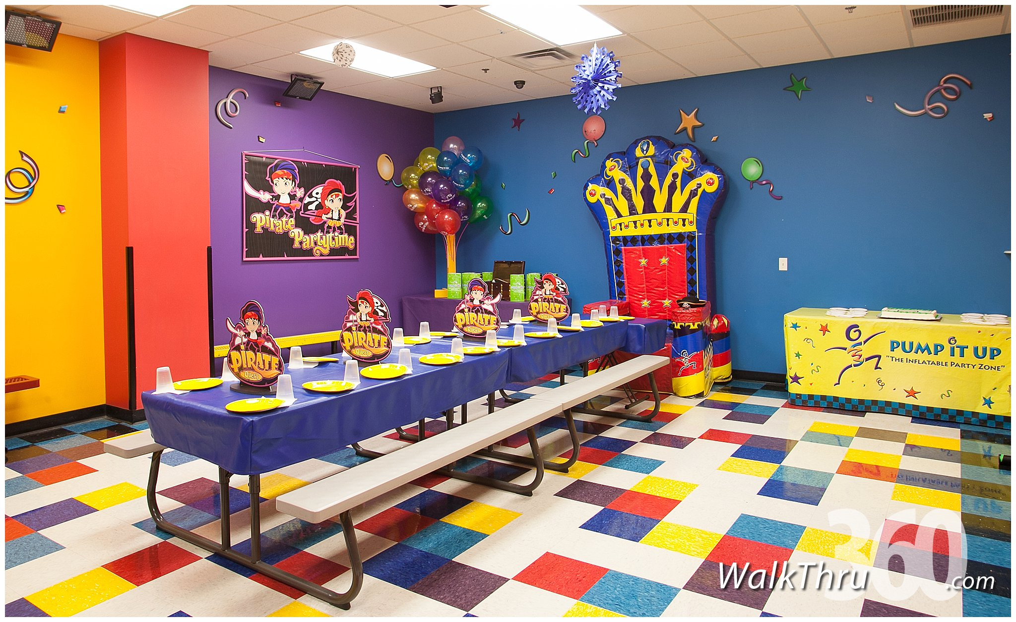 Pump It Up Kid S Entertainment Lincoln Park Virtual Tour