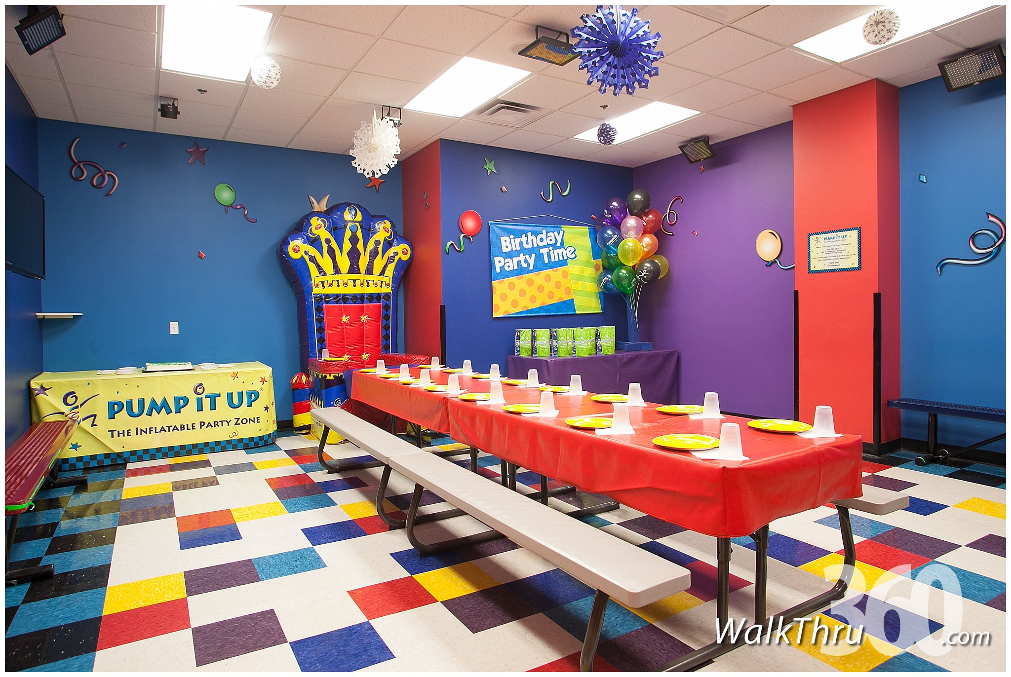 Pump It Up Kids Entertainment Lincoln Park Virtual Tour