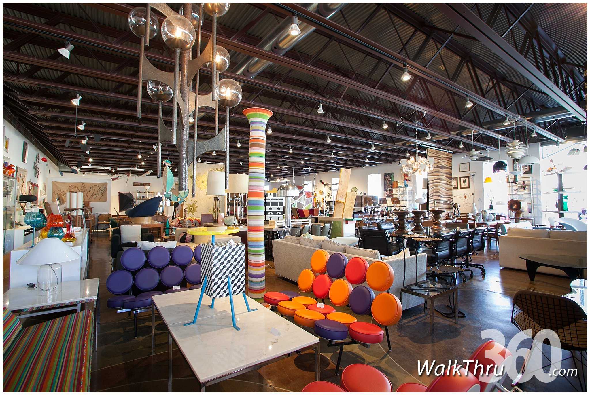 ... Retro Inferno Features The Largest Selection Of Vintage Furniture  Street View Virtual Tour Google ...