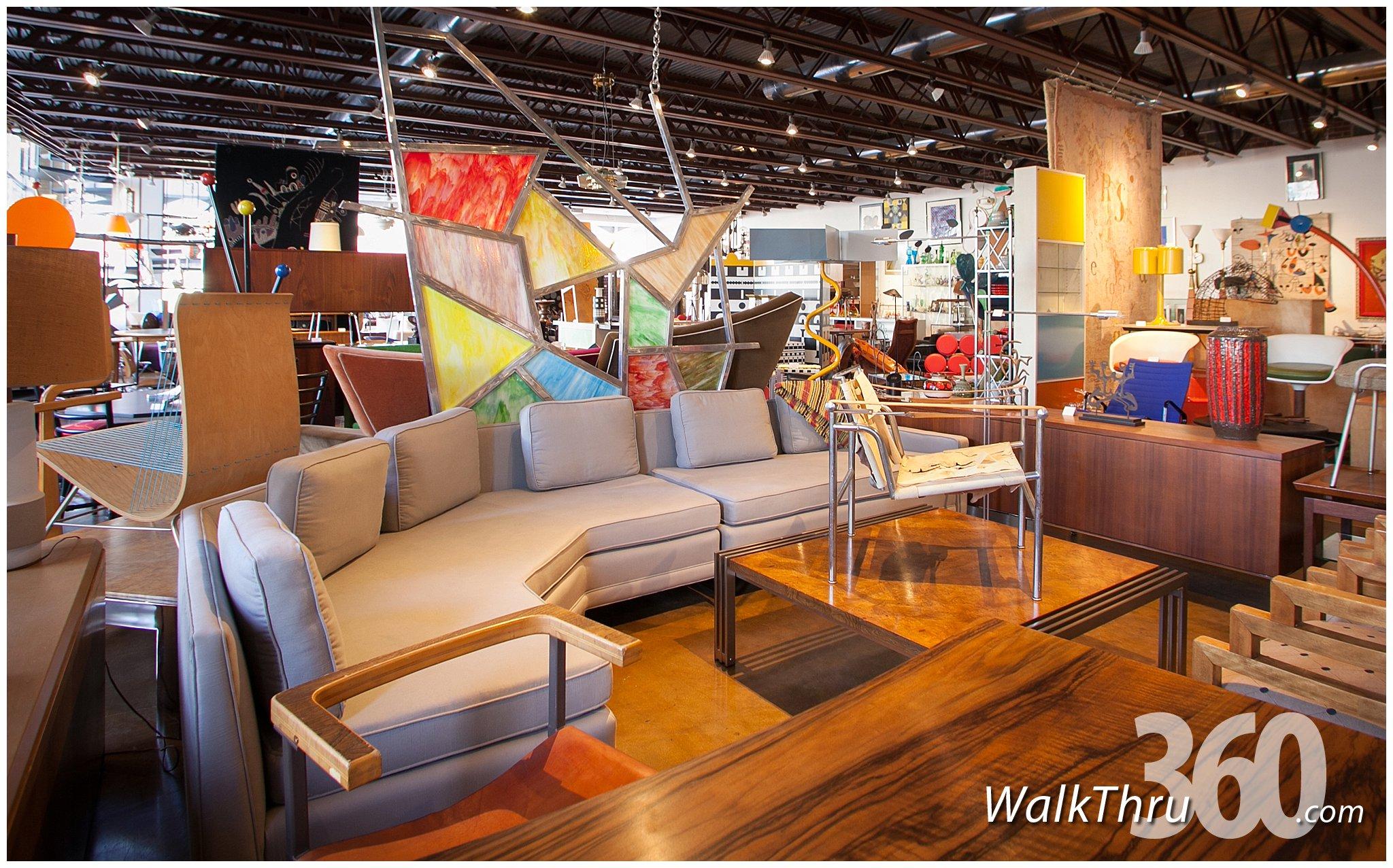 retro inferno furniture store kansas city street view virtual tour walkthru360 google 360. Black Bedroom Furniture Sets. Home Design Ideas