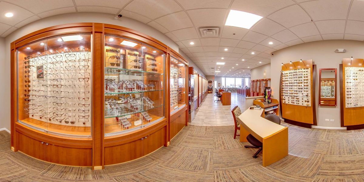 Optical Medical Office Chicago Photography WalkThru360