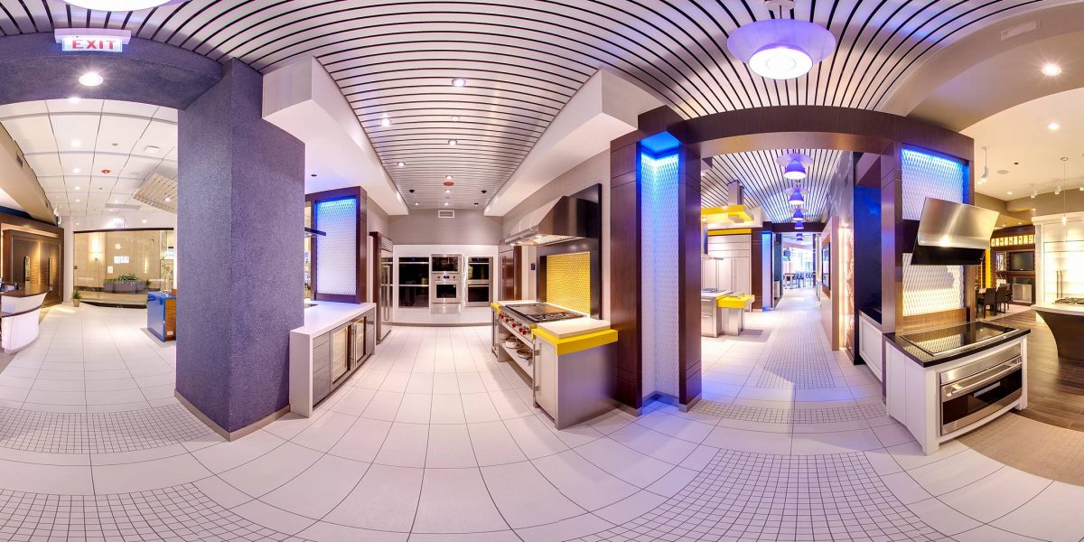 Sub-Zero Wolf Google Maps Virtual Tour Merchandise Mart Chicago 360 Photography