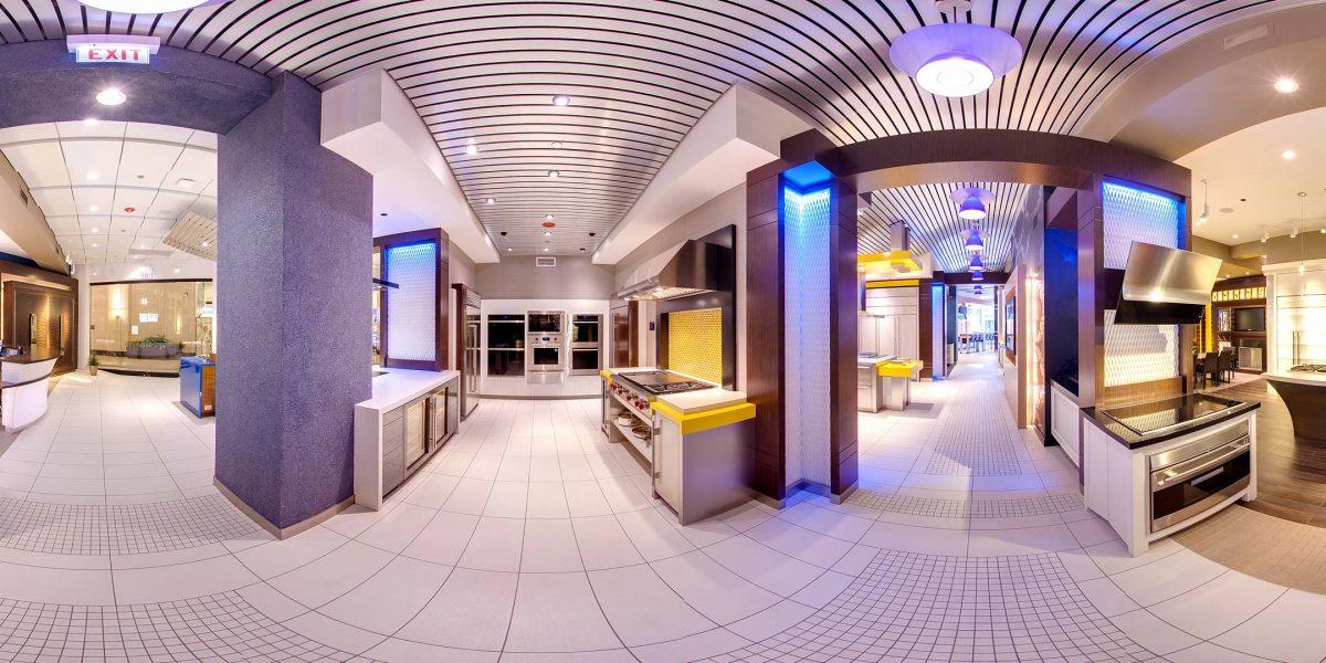 Sub-Zero Wolf Google Maps Virtual Tour Merchandise Mart Chicago 360 Photography