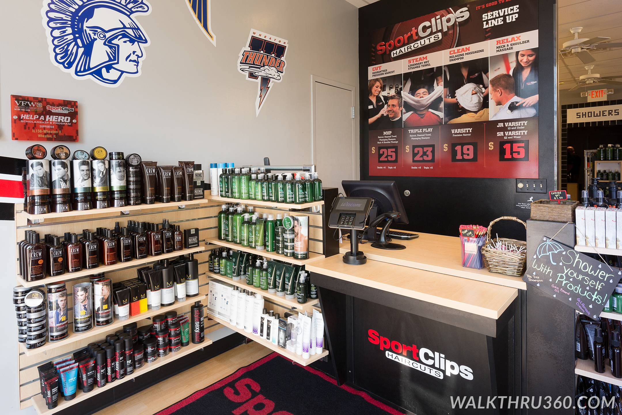 Sport Clips Of Wheaton Il Chicago Google Business View