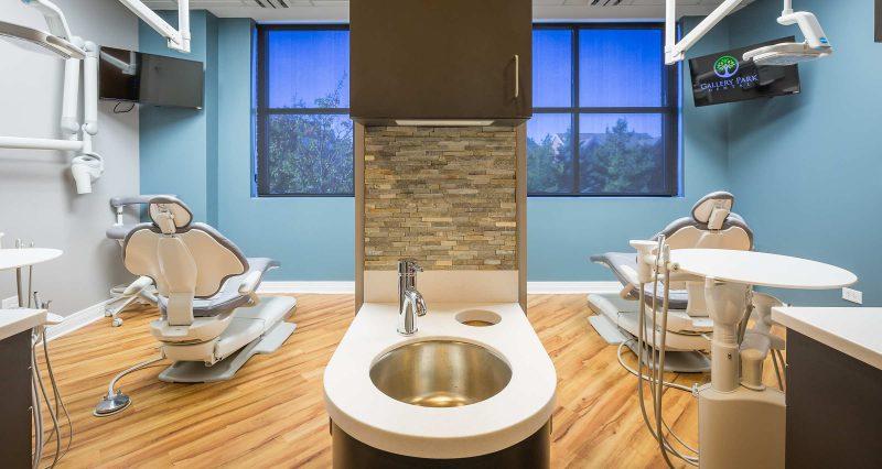 Interior Photo Tom Schmidt Gallery Park Dental Glenview Chicago
