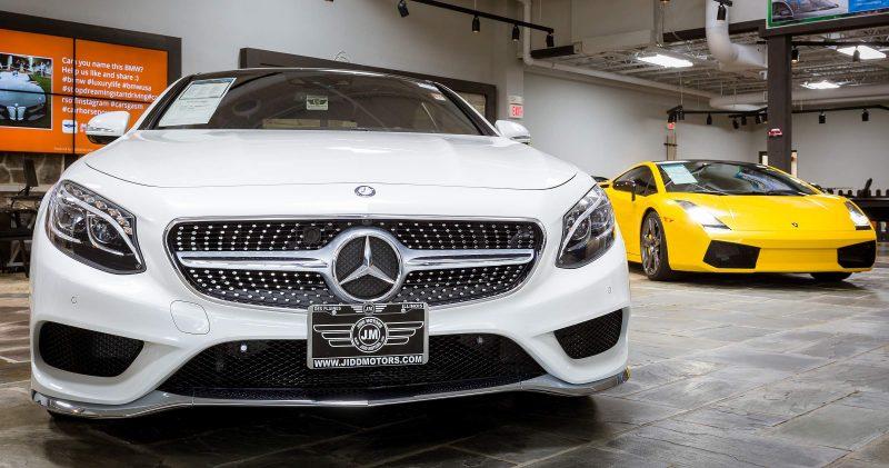 Jidd Motors Mercedes Dealership Chicago Luxury Auto Virtual Tour WalkThru360 - 18