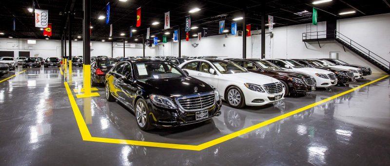 Mercedes Inventory Luxury Automobiles Chicago Jidd Motors Indoor Showroom