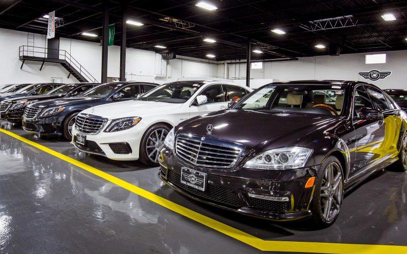 Jidd Motors Mercedes Dealership Chicago Storefront Business Listing Photography
