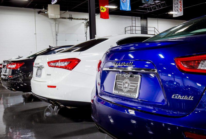 Jidd Motors Maserati Dealership Chicago Storefront Business Listing Photography - 12