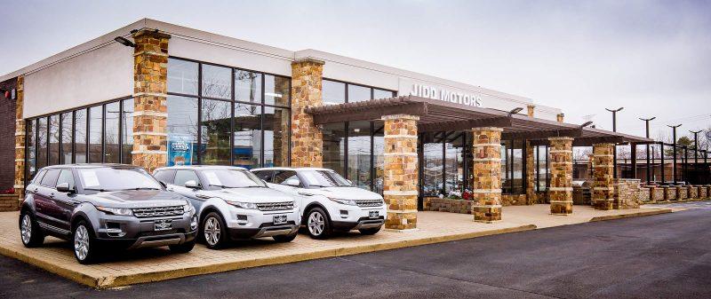 Jidd Motors Range Rover Dealership Chicago Storefront Business Listing Photography