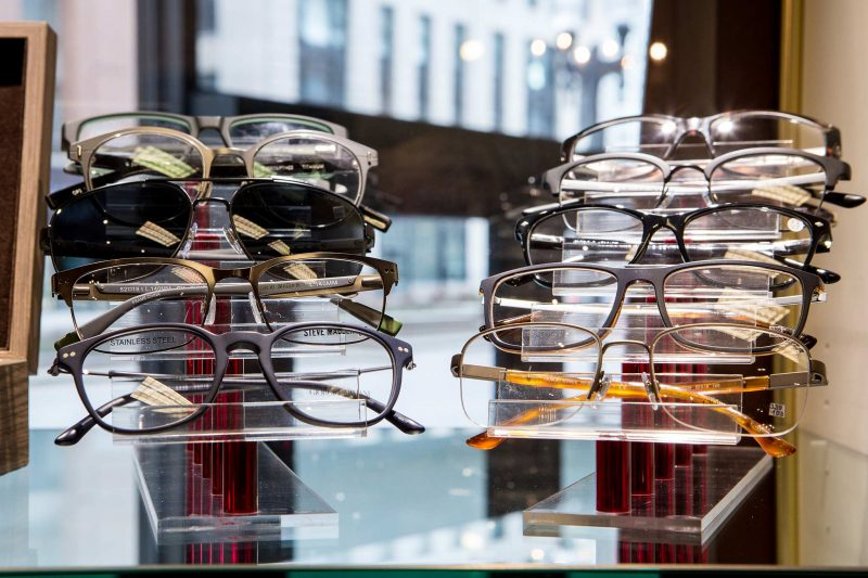AccuVISION Michigan Avenue Chicago Optician Eyeglass Gallery Business Photos