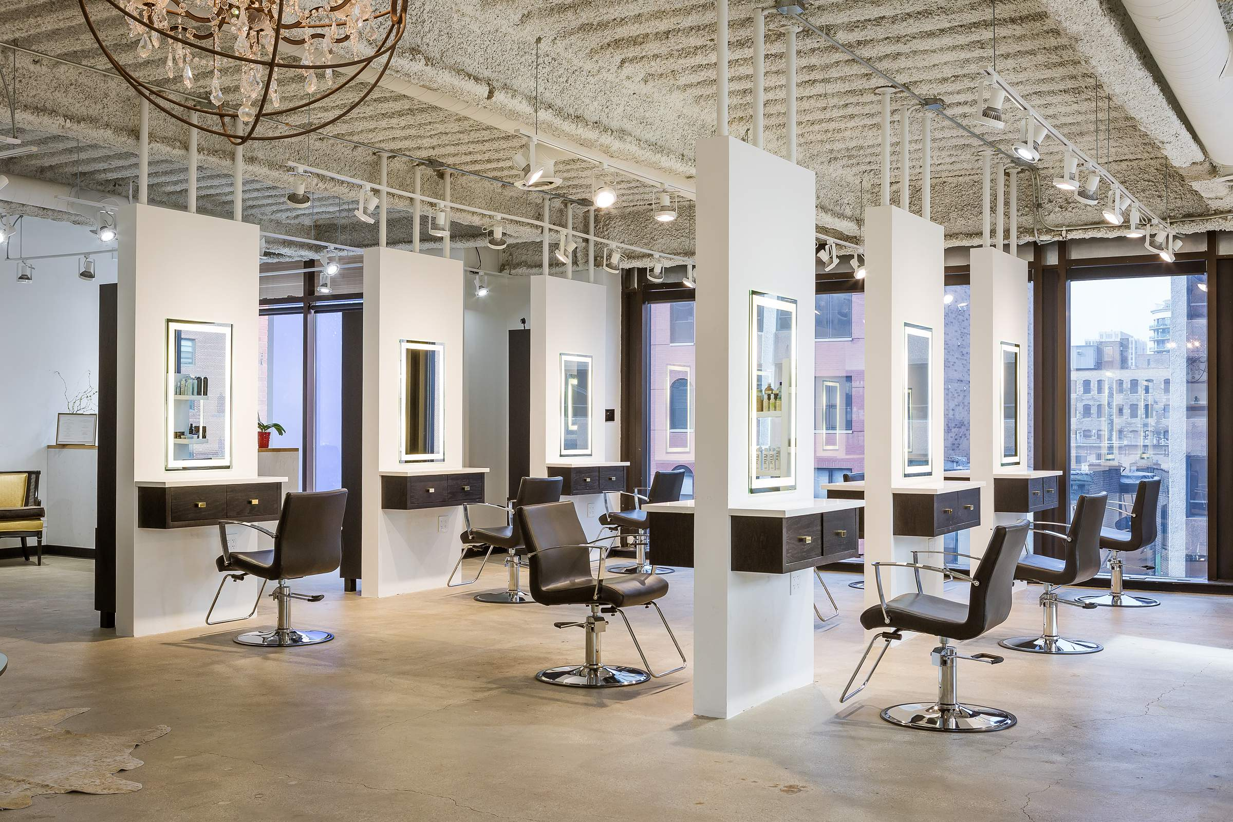 Arsova Salon Chicago Downtown Interior Photography 360 Google VIrtual Tour - 48