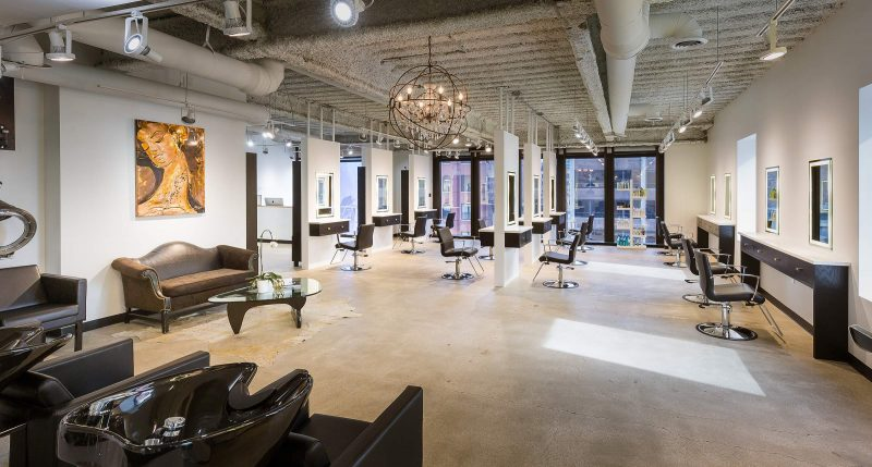 Arsova Salon Chicago Downtown Interior Photography 360 Google VIrtual Tour