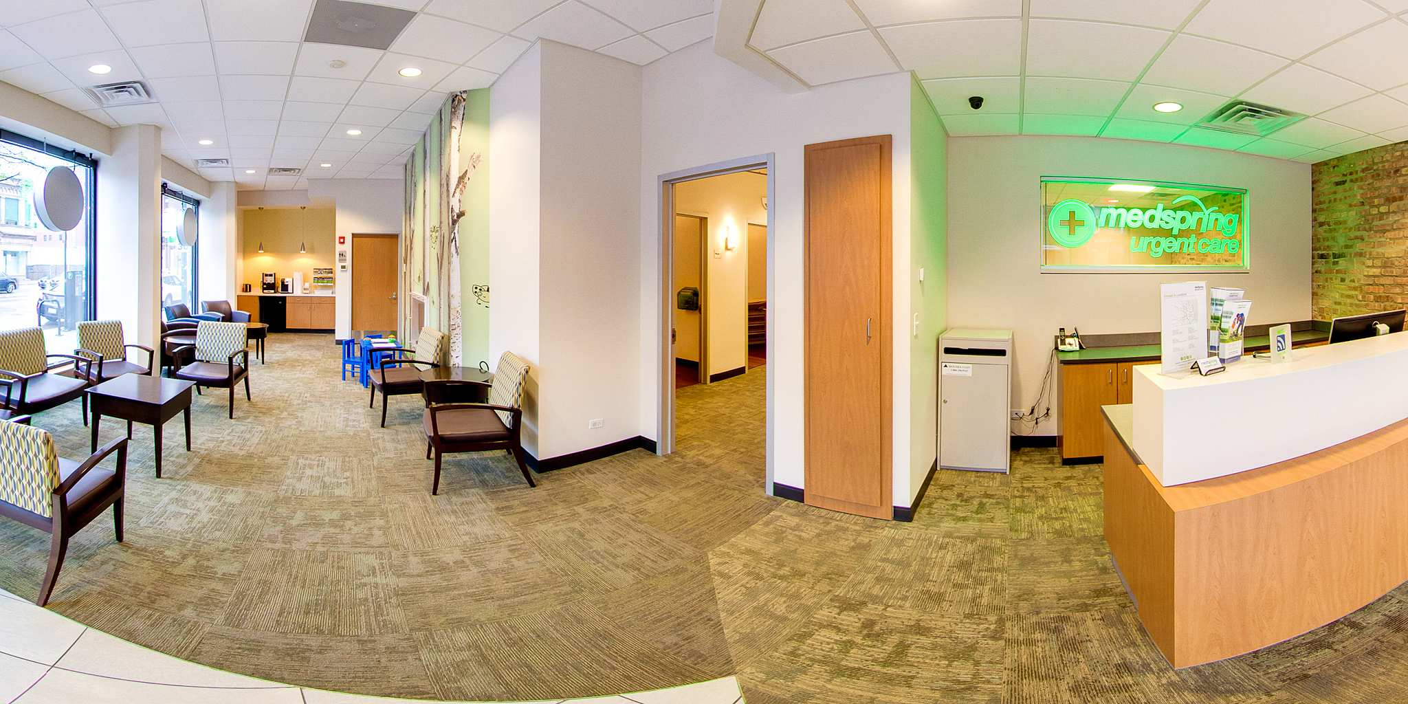 Medspring Urgent Care Chicago Virtual Tour 360 See Inside