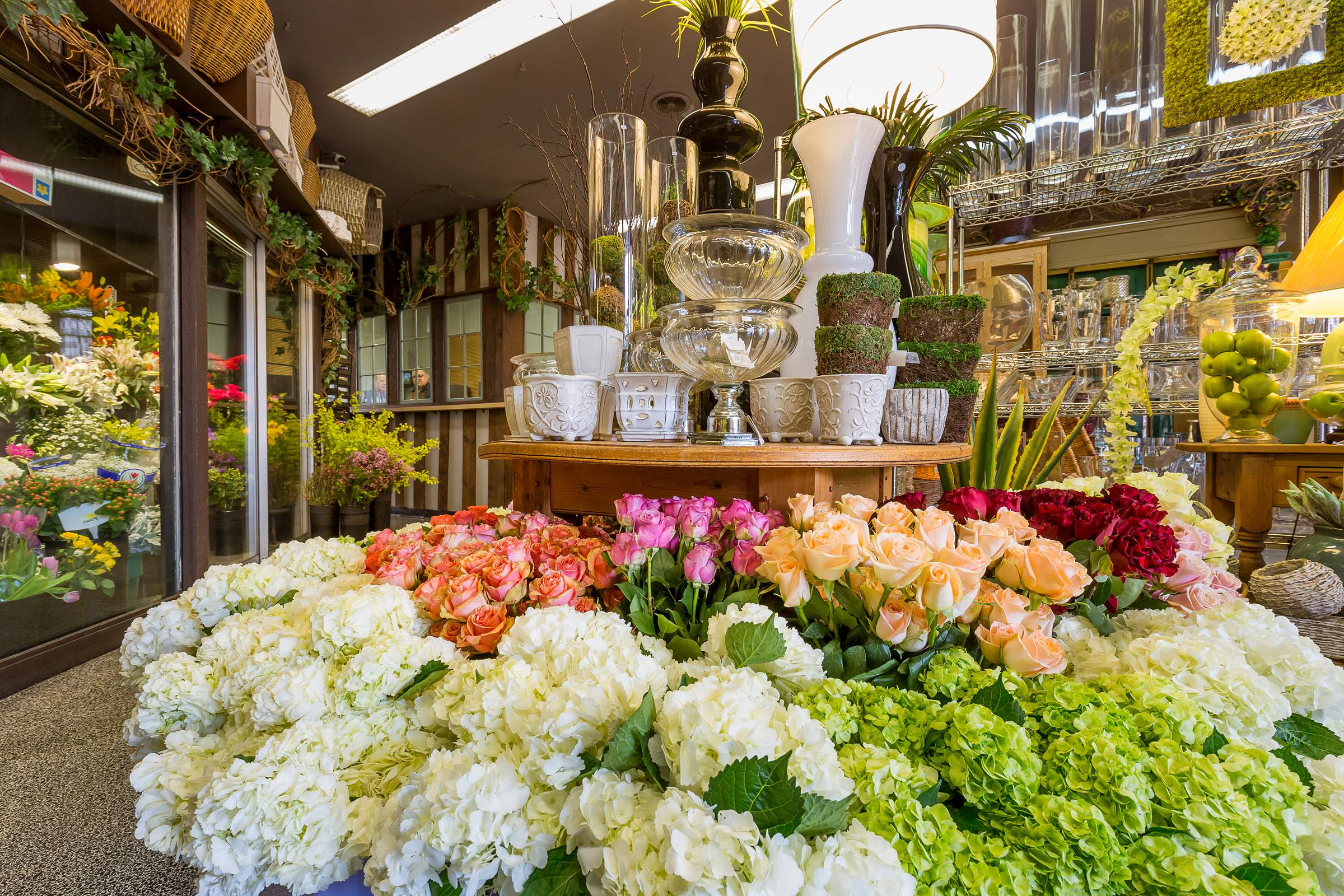 kloeckner flower shop chicago boutique interior google 360 virtual