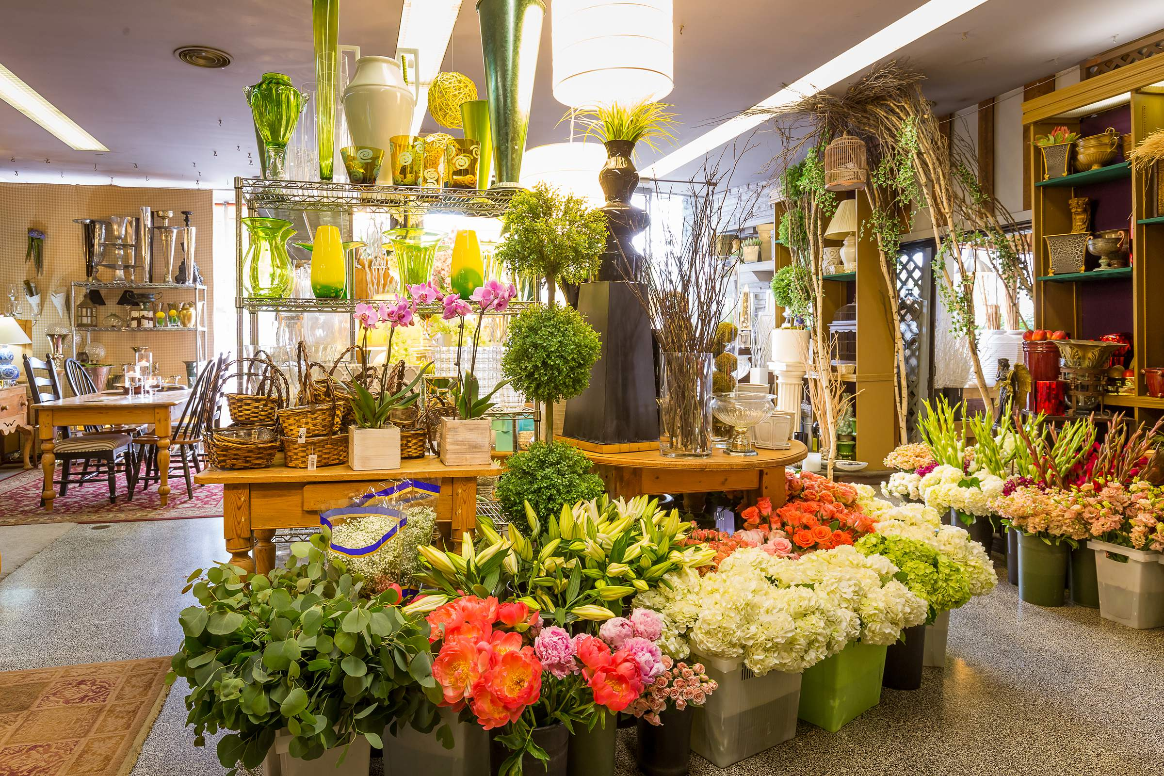 Kloeckner Flower Shop Chicago U2013 Boutique Interior Google 360 Virtual  Photography