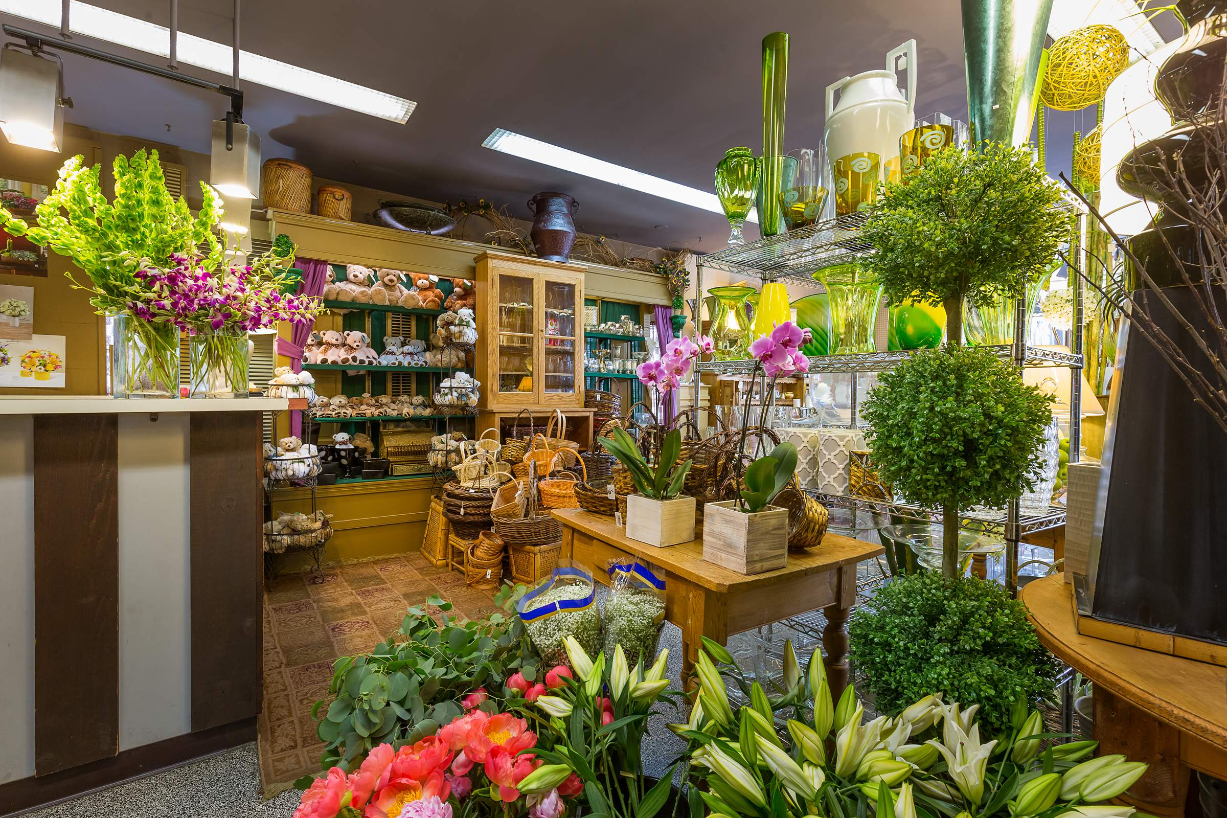 Kloeckner Flower Shop Chicago Boutique Interior Google