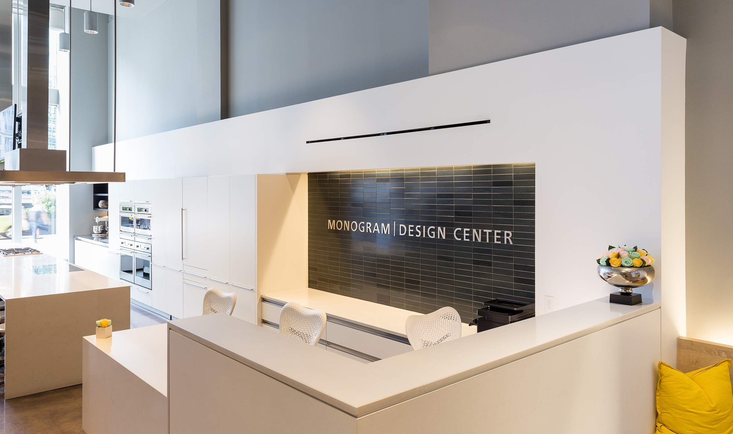 Incredible Monogram Design Center Showroom Interior Architectural Download Free Architecture Designs Scobabritishbridgeorg