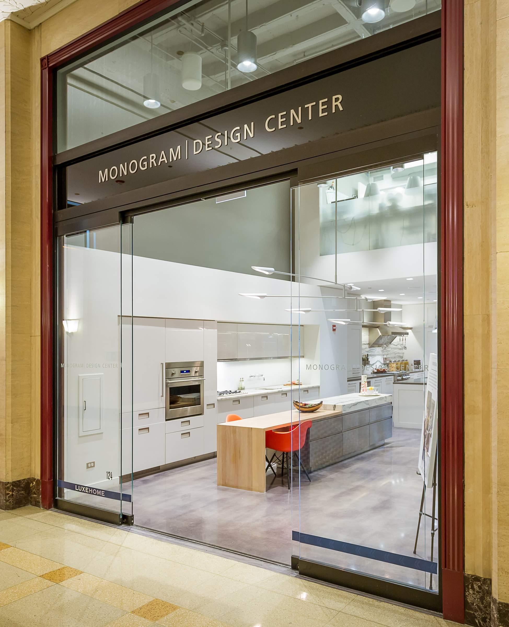 ge monogram design center chicago flagship showroom
