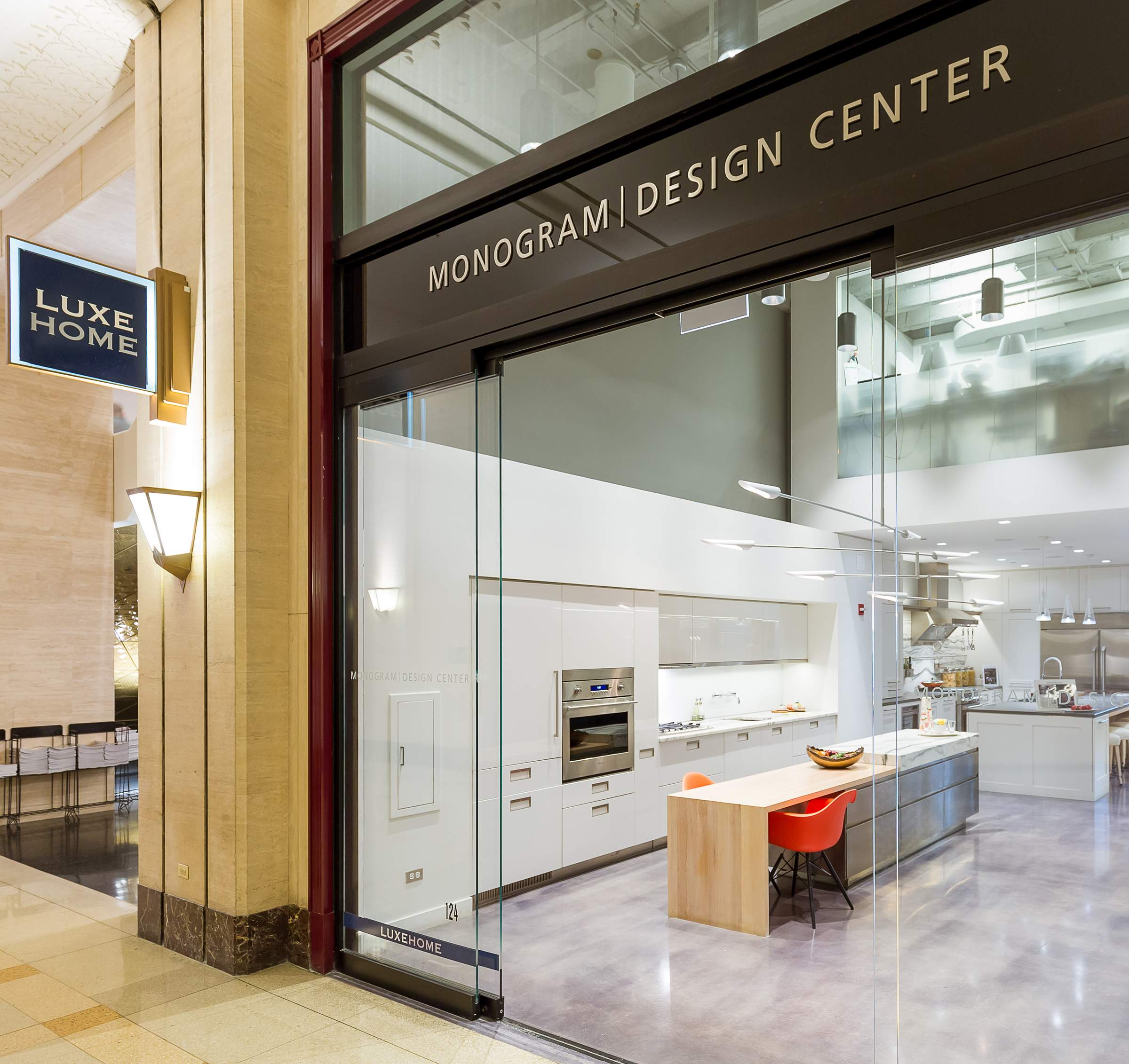GE Monogram Design Center Chicago Flagship Showroom