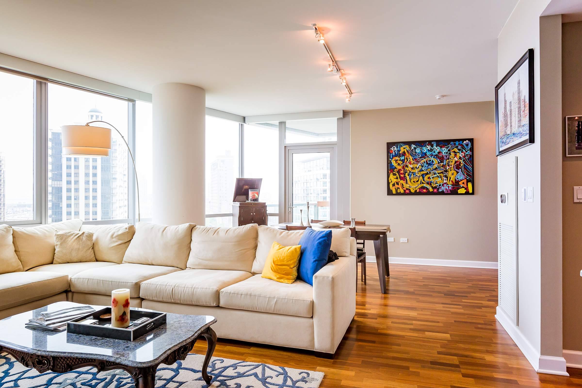 Downtown Chicago Loop Real Estate Photography - 1201 S