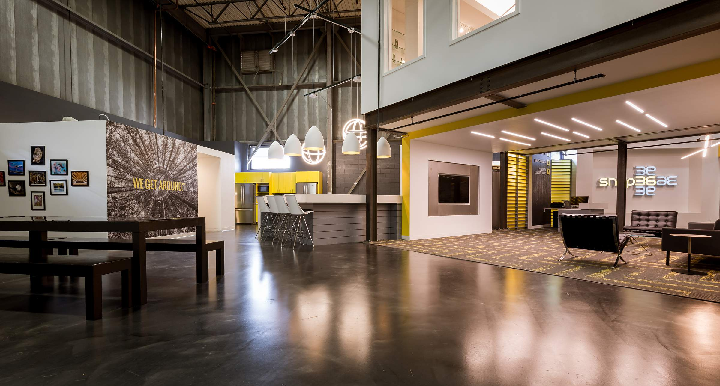 Awesome Industrial Photo Studio - Snap36 Chicago Virtual Tour