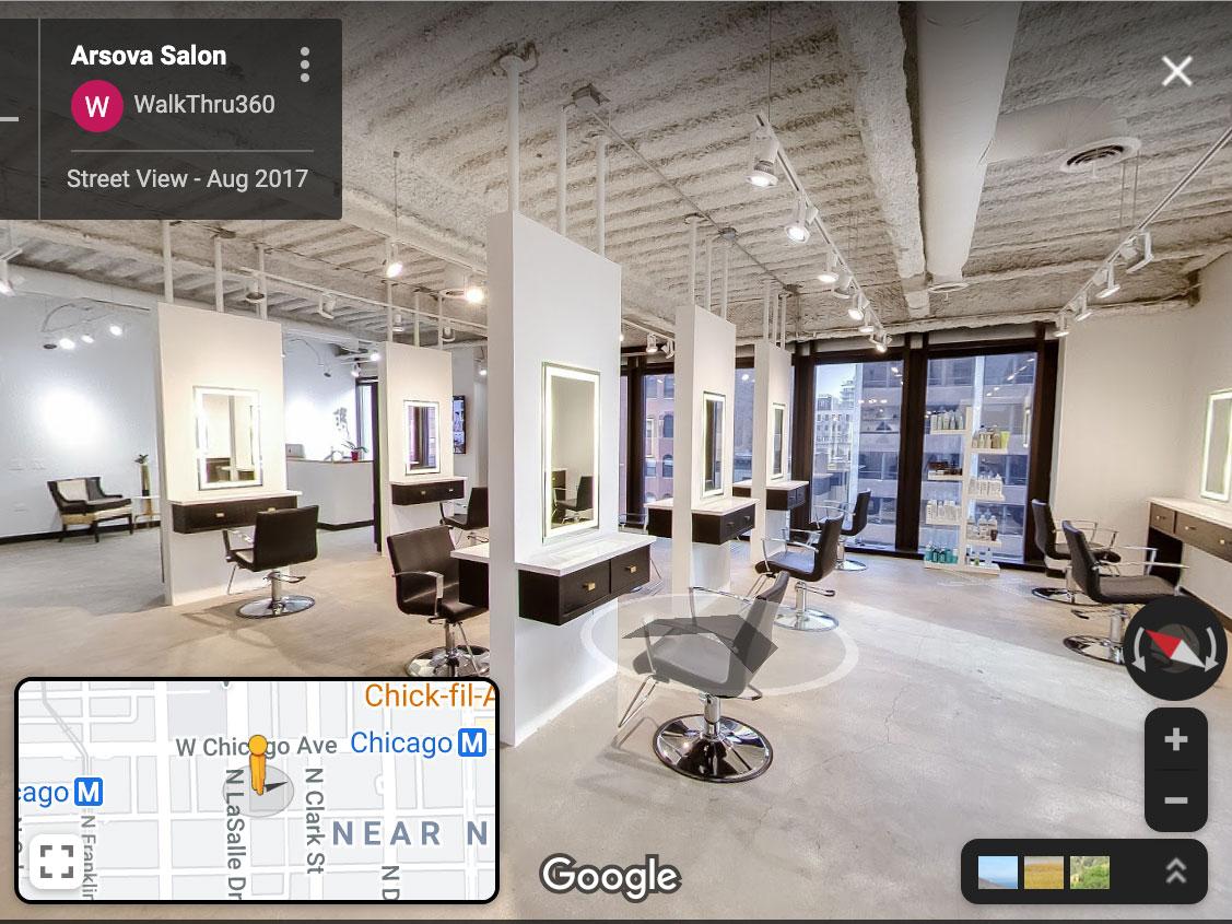 Google Street View for business trusted photographer WalkThru360