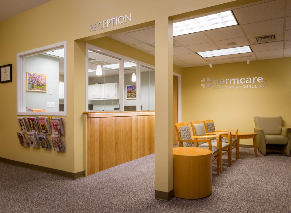 DermCare Boston Dermatology Virtual Tour- Reception