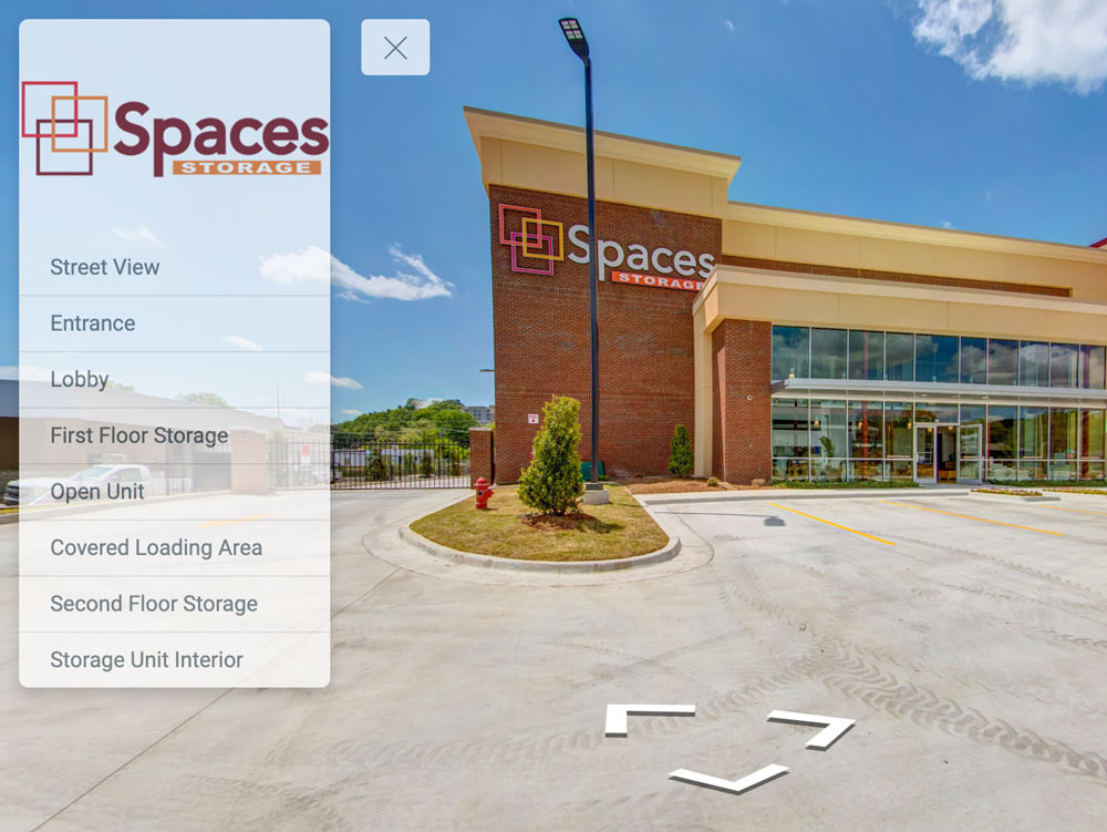 storage facility virtual tour and photography for Google maps street view