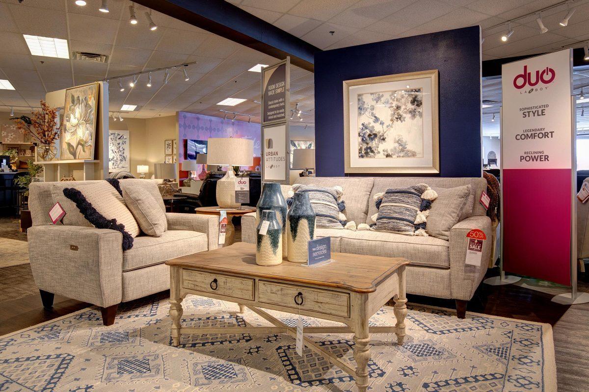 Interior design ideas at La-z-boy springfield illinois virtual tour